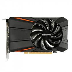 1050 Gigabyte NVIDIA GTX1050Ti D5 DP/HDMI/DVI/4GB Videokaarten