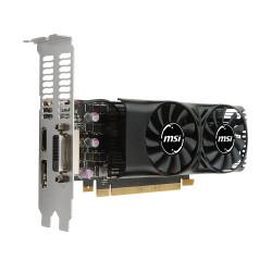 1050 MSI NVIDIA GTX1050Ti 4GT LP DP/HDMI/DVI/GDDR5/4GB Videokaarten