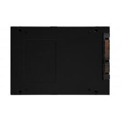 "256GB 2,5"" SATA3 Kingston KC600 3D/TLC/550/500 Retail Solid-state drives"