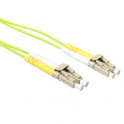 ACT 0,5 meter LSZH Multimode 50/125 OM5 glasvezel patchkabel duplex met LC connectoren