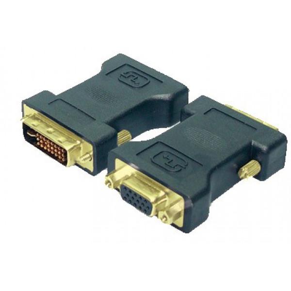 Adapter DVI-I(M) <--> VGA (F) LogiLink DVI-kabels