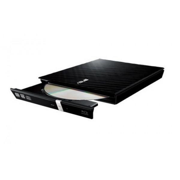 Asus DRW-08D2S-U 8x USB 2.0 / Retail / Zwart Optische schijfstations