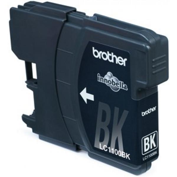 Brother LC-1100BK Zwart 9,5ml (Origineel) Inktcartridges