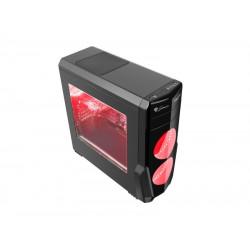 Computer Behuizing - Genesis TITAN 800 USB 3.0 - MIDI Tower - Rood