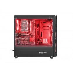 Computer Behuizing - Gensis IRID 300 USB 3.0 - MIDI tower - Rood
