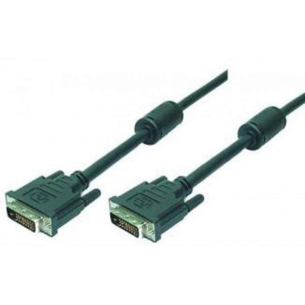 DVI-D 2.00m LogiLink DVI-kabels