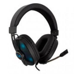 Ewent Gaming headset, 2x 3,5mm jack + USB voor LED verlichting (alleen PC), 1,5 m