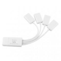 Ewent EW1110 480Mbit/s Wit hub & concentrator Kabels en adapters