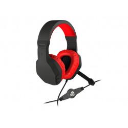 Genesis Argon 200 - Stereo PC Gaming Headset - Rood