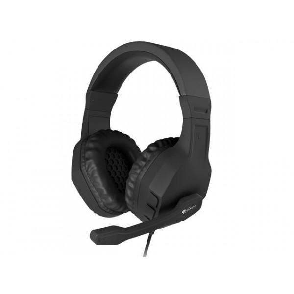 Genesis Argon 200 - Stereo PC Gaming Headset - Zwart