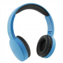 Ksix - Go&Play travel draadloze  en inklapbare koptelefoon -blauw