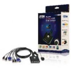 KVM Switch Aten CS22U Mon/Keyb/Mous 2xUSB KVM-switches
