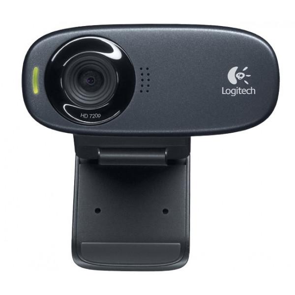 Logitech C310 5MP 1280 x 720Pixels USB Zwart webcam Beeld en Geluid