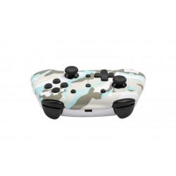 Nintendo Switch - Draadloze Bluetooth Controller - Snow White Camo