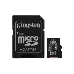 SDXC Card Micro 128GB Kingston UHS-I Canvas Select Flashgeheugens