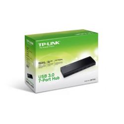 TP-Link 7 Port Hub, USB 3.0 actief zwart Interface hubs