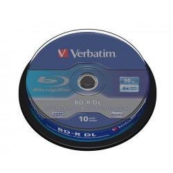 Verbatim BD-R DL 50 GB 10 stuks spindel 6x