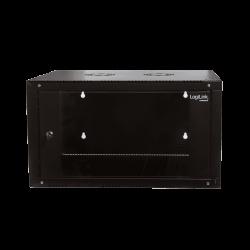 Wandkast 15U 600x 560mm 0 Watt Zwart LogiLink Netwerk Server Wandkast
